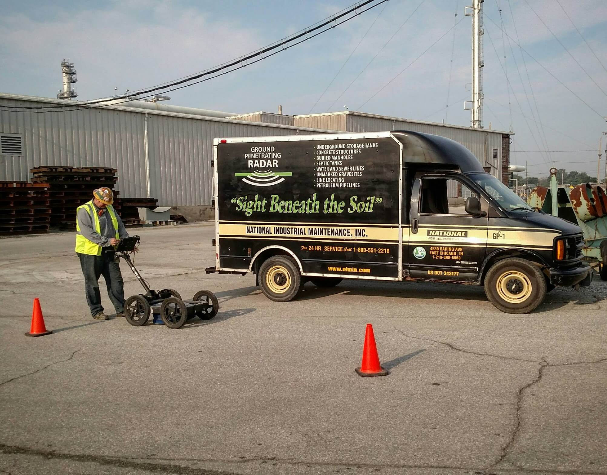 Ground-Penetrating Radar Services - National Industrial